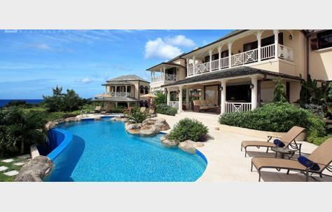 beach holiday, luxury villa, Barbados, Caribbean