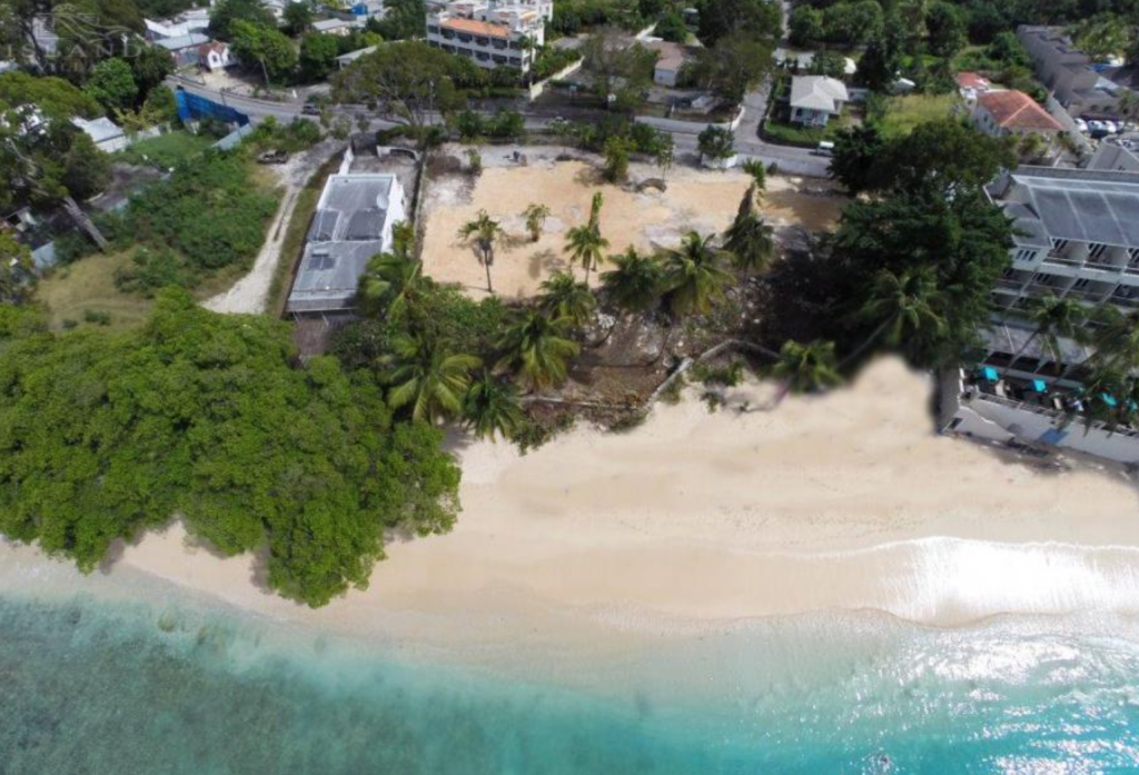 beachfront land for sale in Barbados