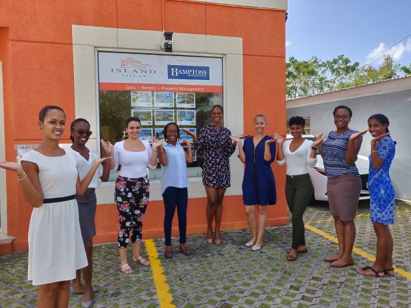 #BalanceforBetter The Island Villas Team celebrates International Women's Day 2019