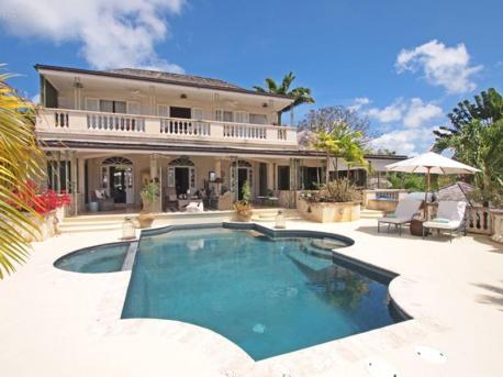 Messel House, Royal Westmoreland - view on villa and pool