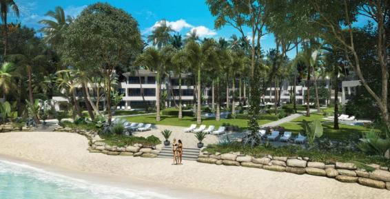 Settlers Barbados - Concept, Exteriors from Beach